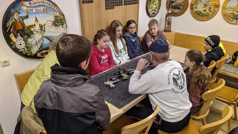 Theorie Training Jugend SG Adler Suffersheim